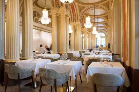 Mobilier d'exception pour un décor d'exception pour le restaurant de Philippe Etchebest