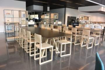 Superbe design scandinave pour cet espace de restauration