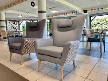 Des fauteuils de repos pour un esprit comme à la maison