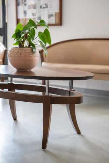 Table basse pour un accueil chaleureux