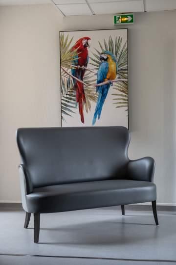 Assortir les canapés à la décoration des couloirs