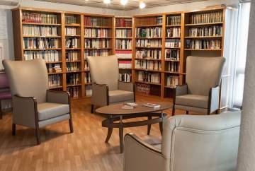 Une bibliothèque authentique et conviviale